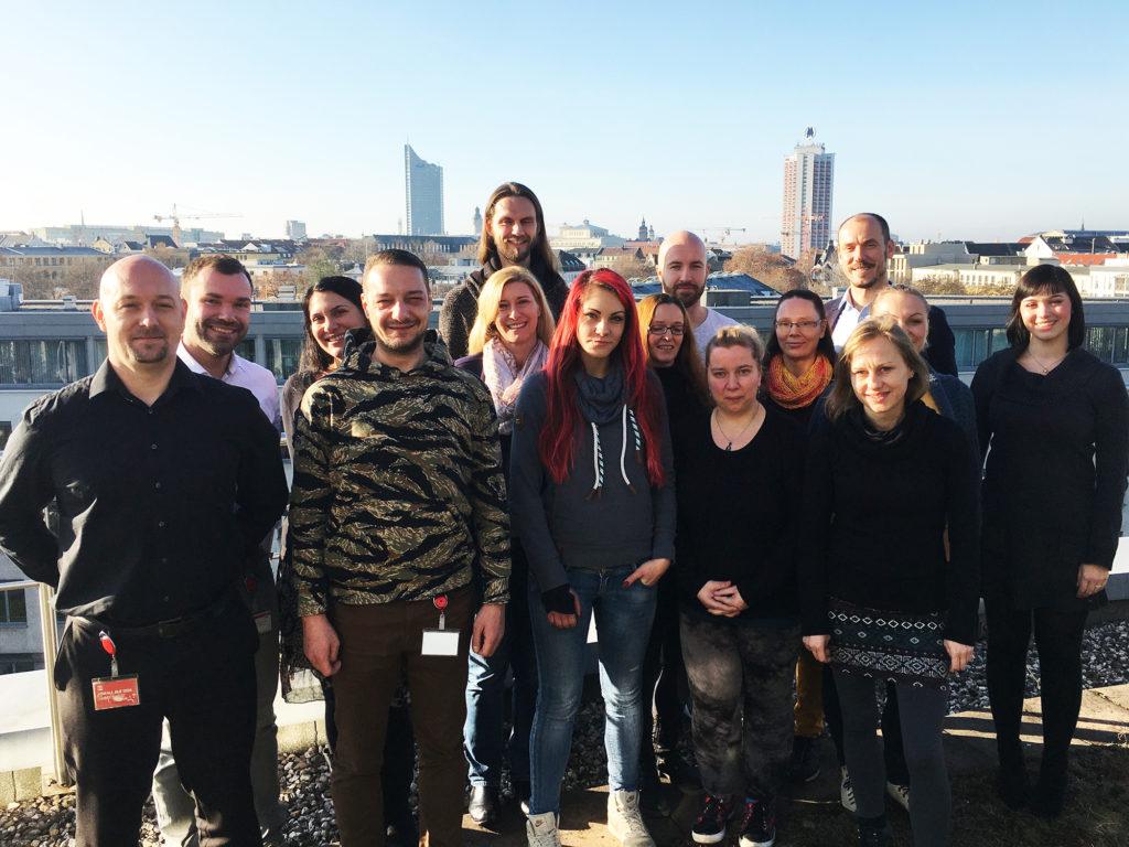Gruppenbild KickOff-Meeting